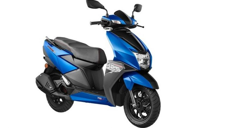 TVS NTorq 125 scooter: Available in six colors and 2 new metallic color