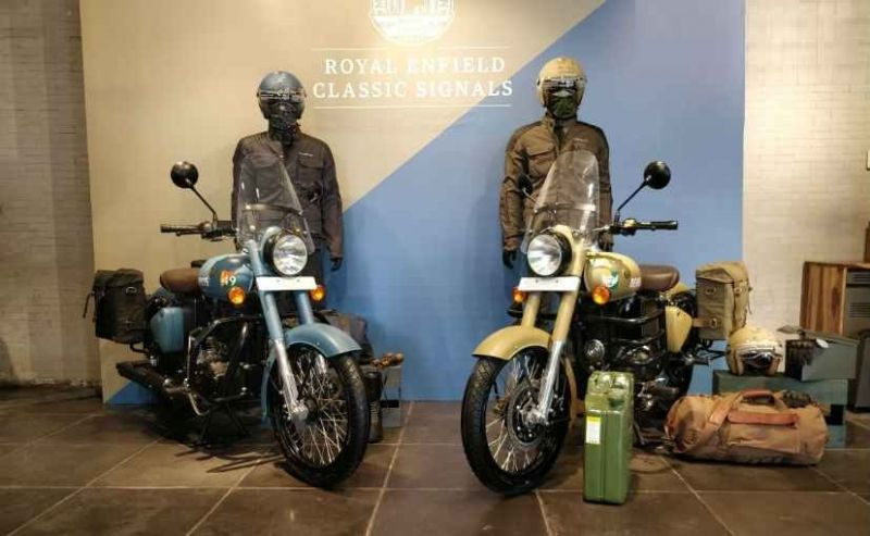 Royal Enfield launches classic 350 signals edition in India, know the price and features