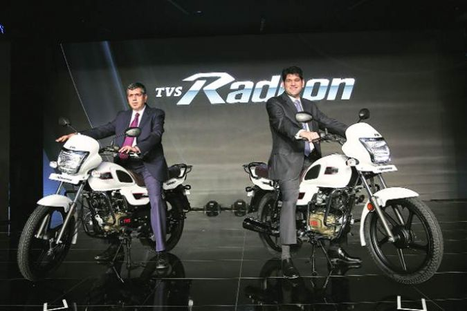 TVS launches brand new 110cc bike Radeon, Know the price and features