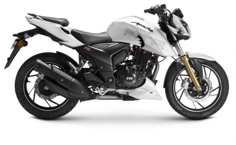 TVS launches Apache RTR 200 4V ABS in India