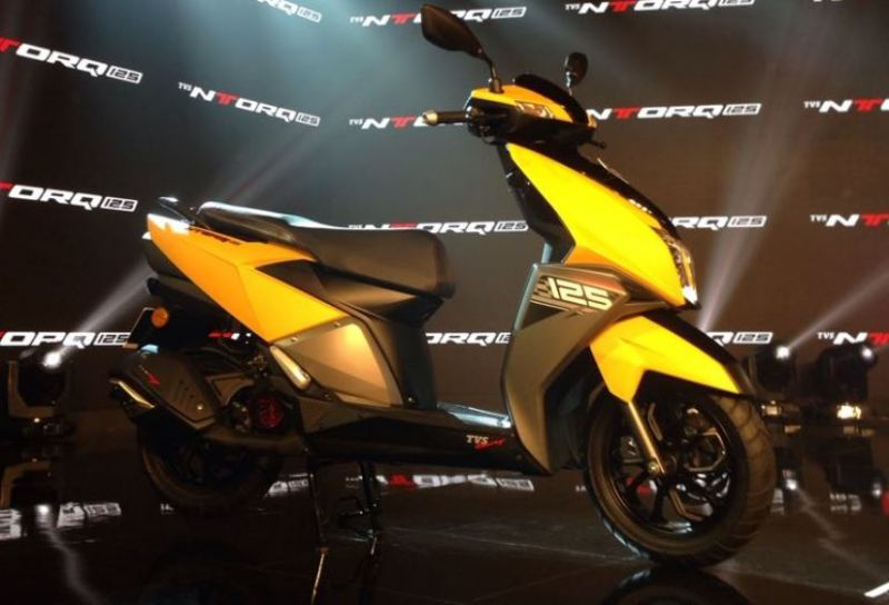 TVS launches exclusive new scooter ENTorq 125 in India