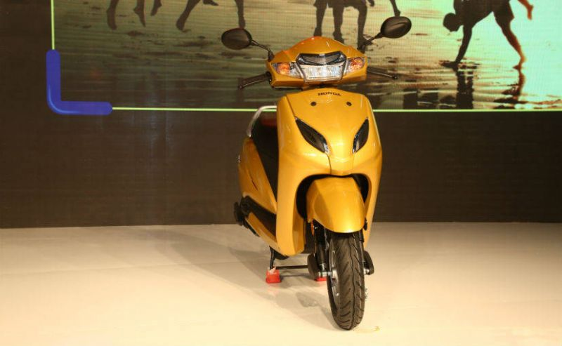 Honda Motorcycles remove curtain from Activa 5G in Auto Expo 2018