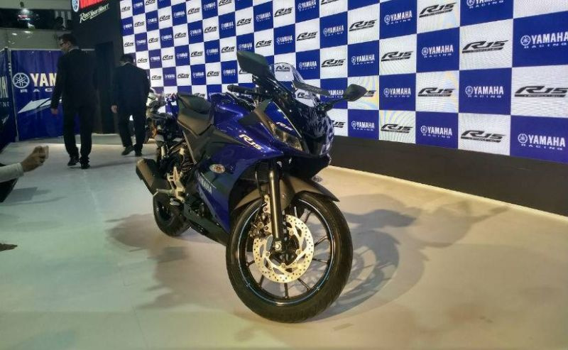 Yamaha YZF-R15 V3 launched at Auto Expo 2018