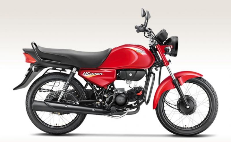 "Hero launches the cheapest bike ""HF Dawn"" again in India, Ex-showroom price- 37,400"