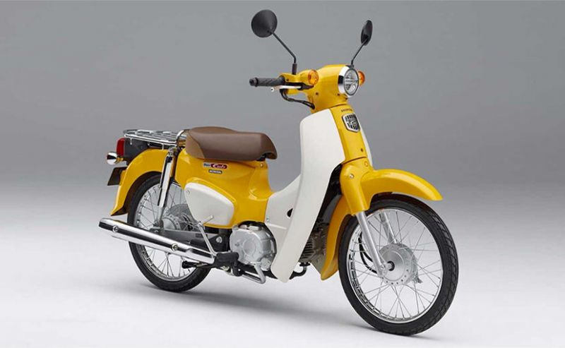 Honda launched Scooter inspired by the Vintage Look of 1958 model similar as M80.