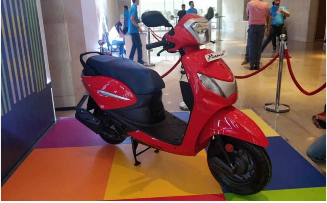Hero MotorCorp's Pleasure Plus scooter launch in India, check price and other detail here