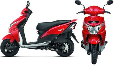 All new upgraded Honda Moto Scooter 'Dio'