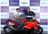 TVS Apache RR 310 Launched and MS Dhoni becomes the first owner