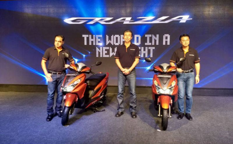Honda launched its 125cc stylish scooter grazia in India