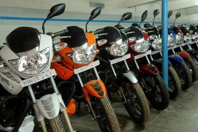 Two-wheeler Automobile sales hike up