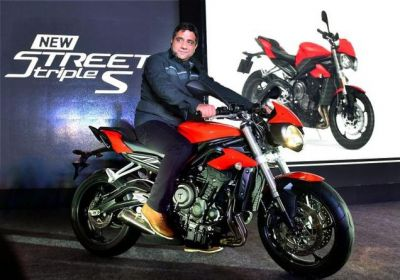 Triumph launches new RS Variant bike this festive season