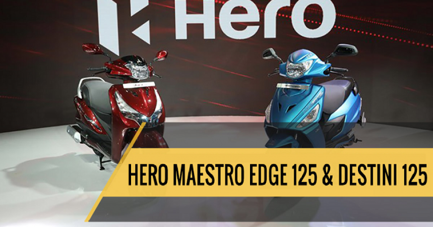 Hero's new Maestro 125 and Destini 125 to be launched this festive season, know the price