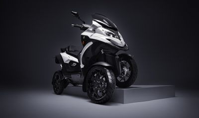 Quadro Qooder 400cc four-wheeler electric scooter launched, will beat the sports bike