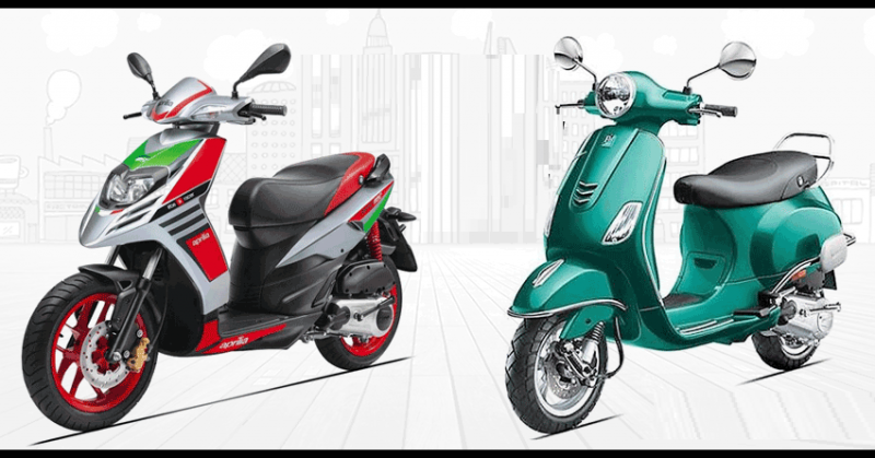 Great cashback, Insurance and warranty available at Vespa and Aprilia scooters