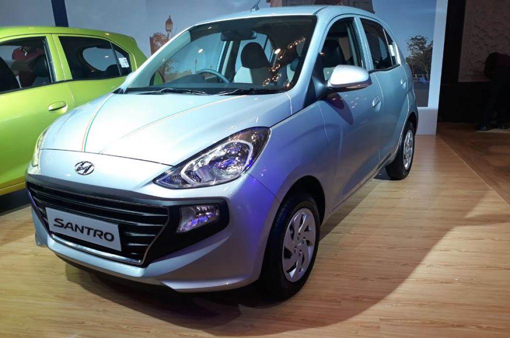 Hyundai Santro ने बेची 50000 कारें, पढ़े रिपोर्ट