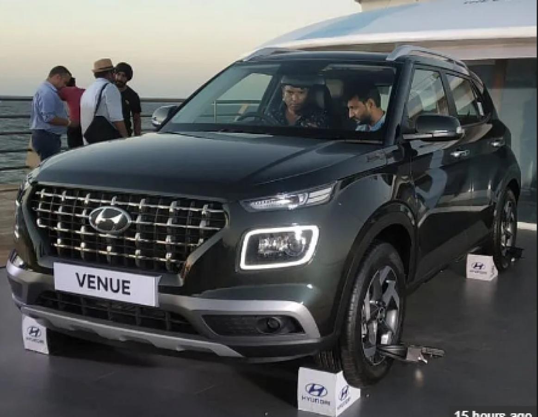 Hyundai Venue है मेड इन इंडिया कनेक्टेड  SUV, फर्स्ट लुक आया सामने