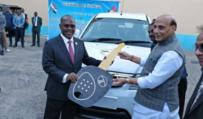 Government of India gifts 44 SUVs to this country
