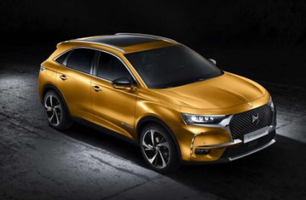DS7 Crossback SUV Caught Testing In India, know the features