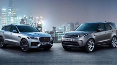Jaguar Land Rover sales increase by 5% in July