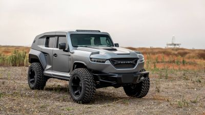 2020 Rezvani Tank Is The World's Most Powerful Production SUV