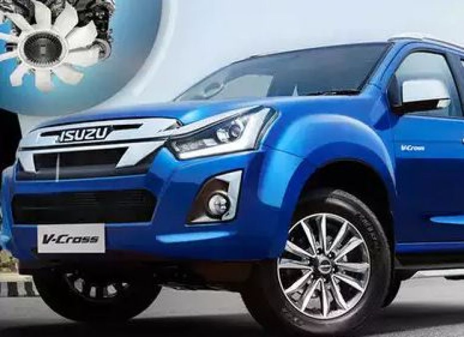 Isuzu D-Max V-Cross 1.9-Litre Diesel Automatic Launched In India