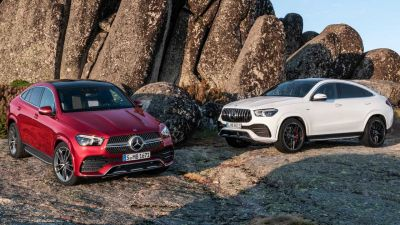 2020 Mercedes-Benz GLE Coupe Unveiled ahead of Frankfurt Motor Show