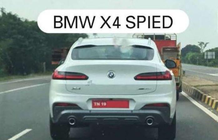 टेस्टिंग के दौरान नजर आई bmw x4 spied, जानिए कीमत और क्या होगा खास ?