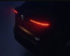Toyota launch teaser of this international model SUV