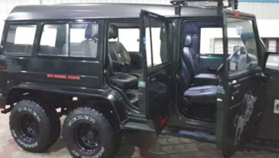 Beast on Wheels: This Custom Mahindra Bolero 6x6 Is A True Beast
