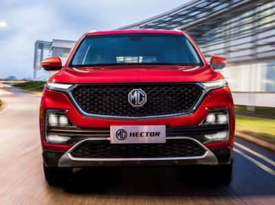 On this day customers can take MG Hector's test drive.