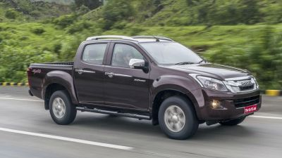 The facelift version of Isuzu D-Max V-Cross in India displayed, here is the price