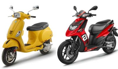 Vespa and Aprilia starts selling once again
