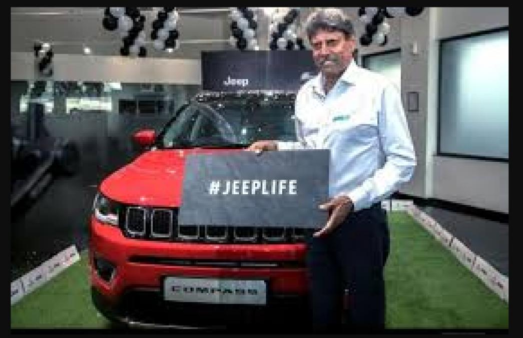 अमेरिकन ब्रांड Jeep Compass भारतीय टीम के पूर्व कप्तान कपिल देव के गैराज में शामिल, जाने फीचर्स