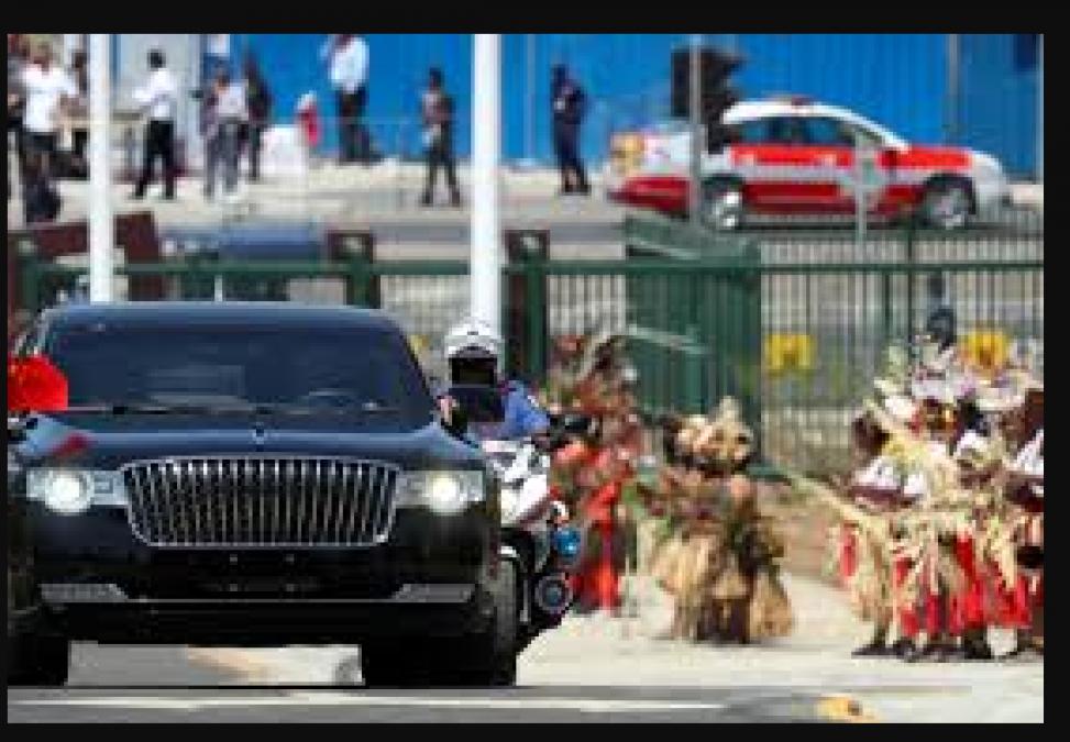 चीनी राष्ट्रपति ये लक्ज़री कार लाये भारत, जाने