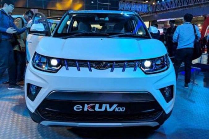 महिंद्रा जल्द लॉन्च करने वाली है नई इलेक्ट्रिक कार