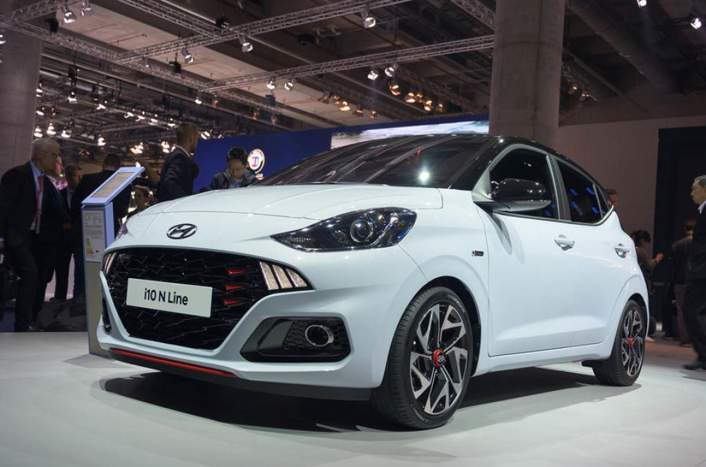 Hyundai i10 N Line is equipped with a powerful engine, the sporty look will make you crazy!