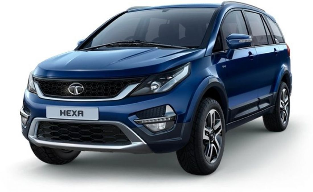 Tata Hexa is equipped with a powerful engine, get bumper discounts
