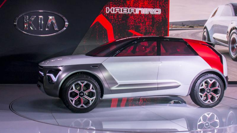 Kia HabaNiro Electric SUV Concept Unveiled at New York Auto Show 2019