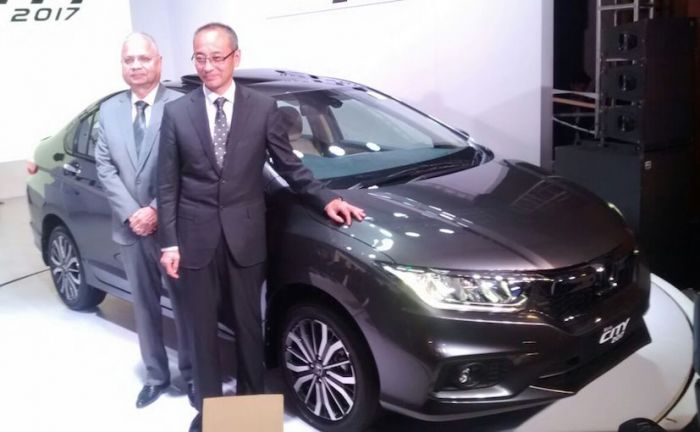 Valentine's day: Honda City Facelift Launched in India