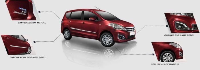 Maruti Suzuki Ertiga limited edition launched in India
