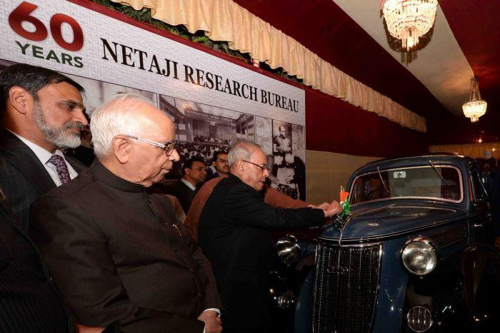 Netaji's 'Wanderer W24' released by President Pranab Mukherjee