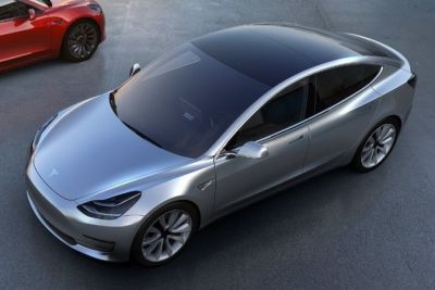 Tesla Model 3 will run 402 km on one charge