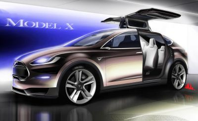 Latest Tesla Model X Launched, Now Has More Seats And More Cargo Space
