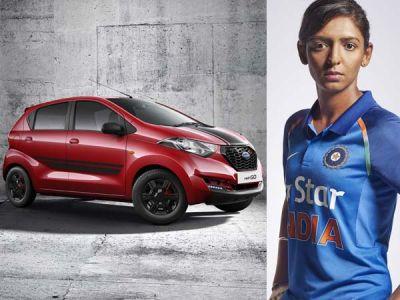 Nissan gifted this car to cricketer Harmanpreet Kaur