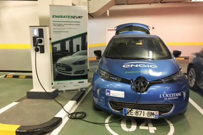 Here is Country's First Electric Charging Station
