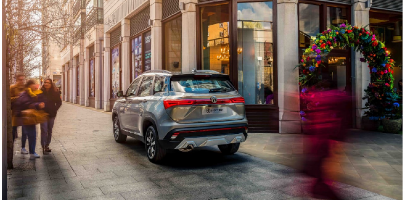 Bold and Strong design SUV, MG Hector Unveil in India, Must know Features and Specs here