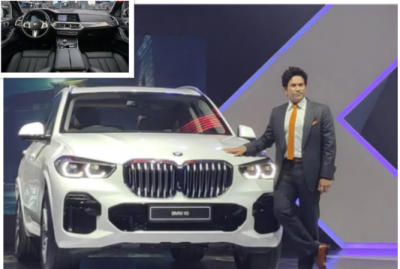 With all Dynamic Design, BMW X5 SUV launched in India by Sachin Tendulkar