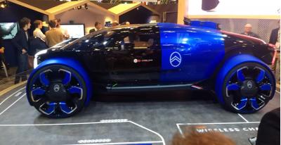 Vivo Tech 2019: French carmaker Citroen official unveil new concept model car