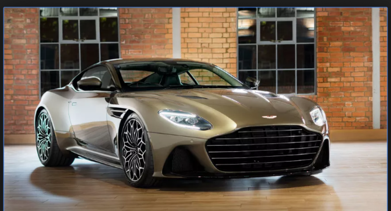 Aston Martin DBS Superleggera newest James Bond-inspired car 50th-anniversary celebration