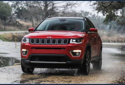 Jeep Compass Trailhawk SUV teased ahead of launch in India